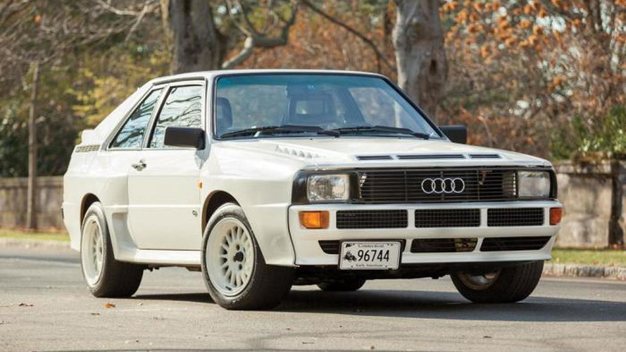 Barely driven 1984 Audi Sport Quattro to be auctioned next month