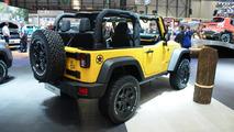 Jeep Wrangler Rubicon Rocks Star at 2015 Geneva Motor Show
