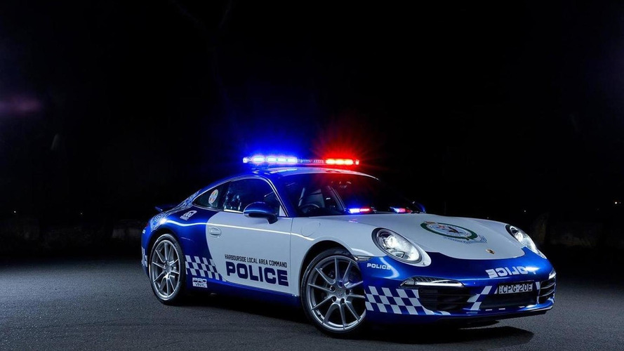 New South Wales police in Australia gets Porsche 911 Carrera
