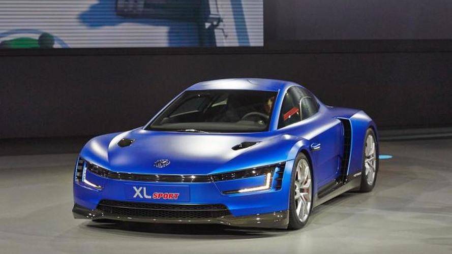 Volkswagen Xl Sport Is A Quick Yet Frugal Ducati Powered Concept