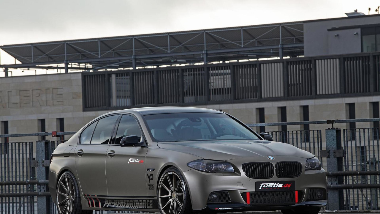 Bmw 550i Tuned To 570 Hp By Pp Performance