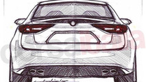 Alfa Romeo Giulia unofficial design sketch