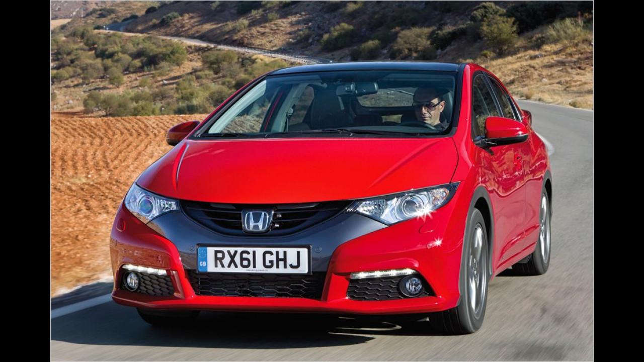Kompaktklasse, 2. Platz: Honda Civic