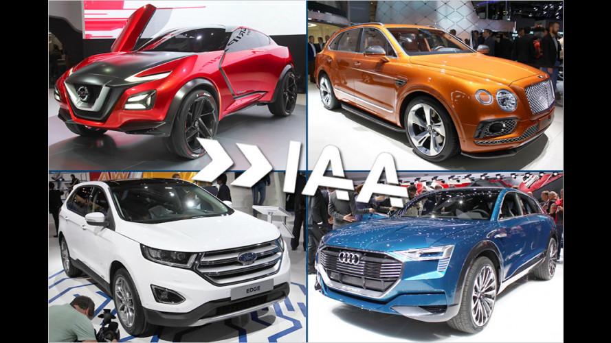 IAA 2015: Die SUVs