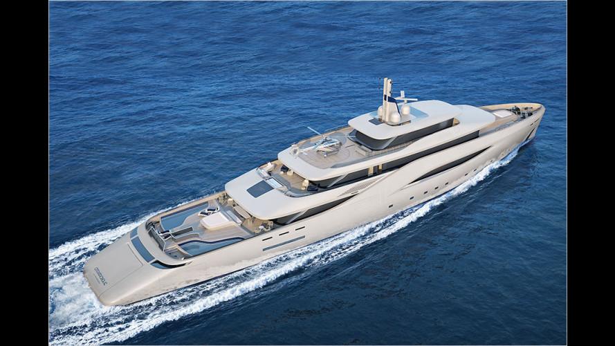 Luxus-Yacht von Pininfarina
