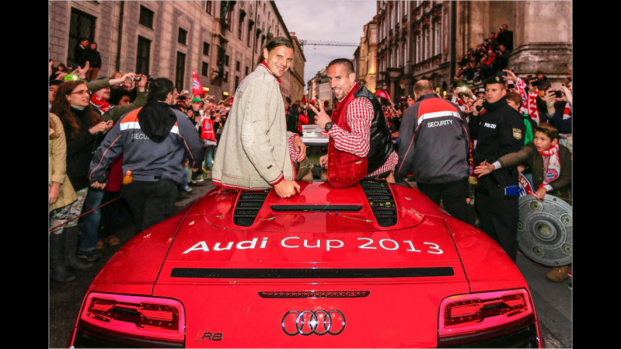 Bayern München: Audi R8 Spyder