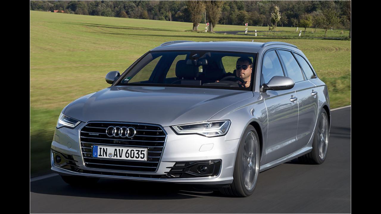 Obere Mittelklasse, Platz 1: Audi A6 (9.933 Stück)