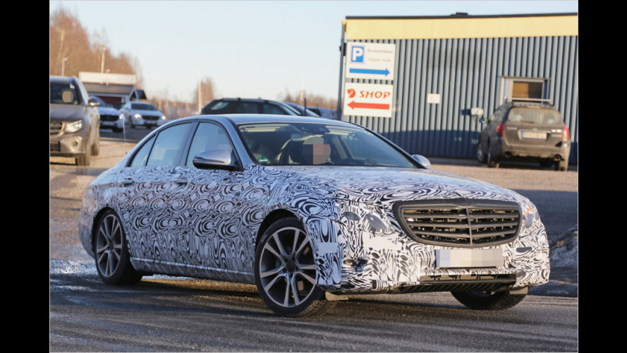 Erwischt: Neue Mercedes E-Klasse