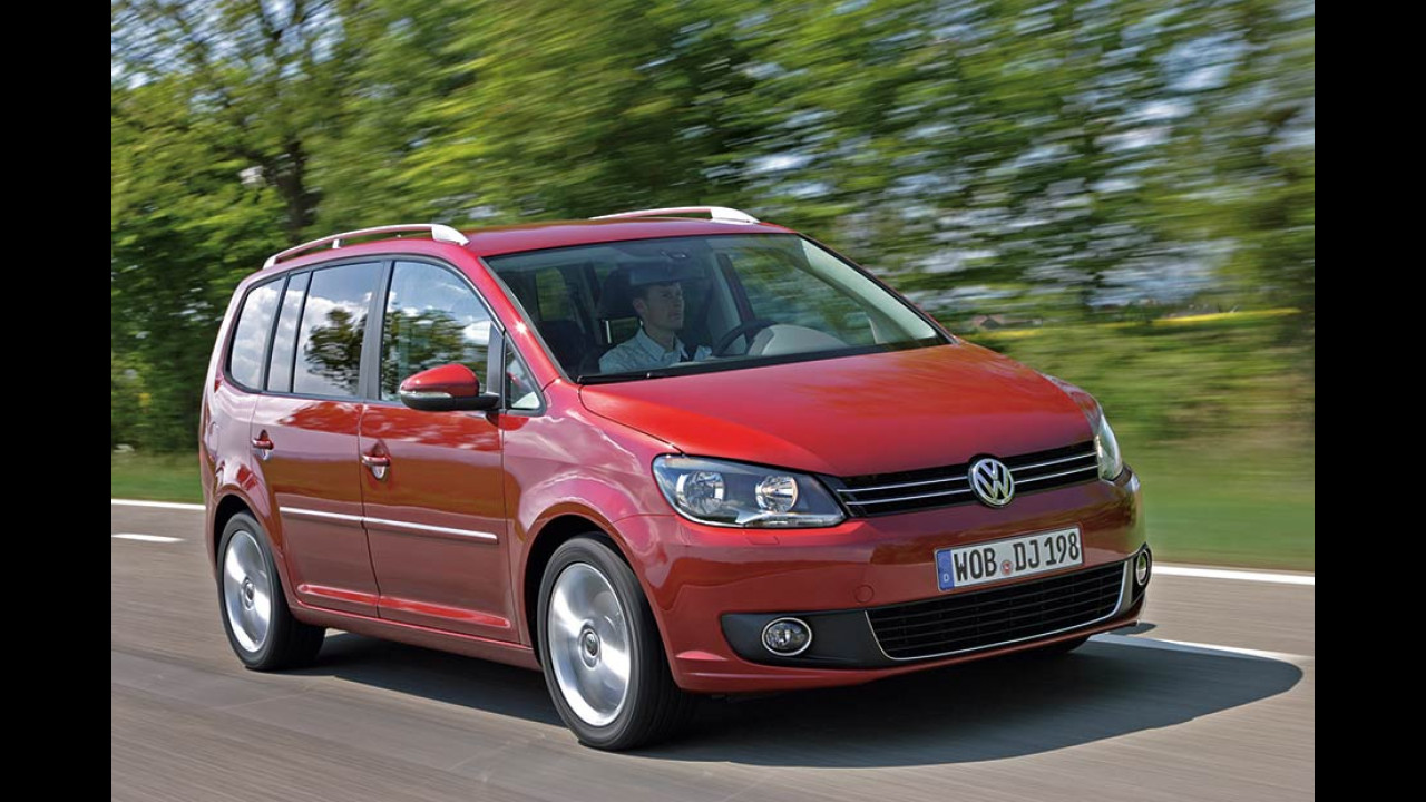 Vans, Platz 1: VW Touran (11.980 Stück)