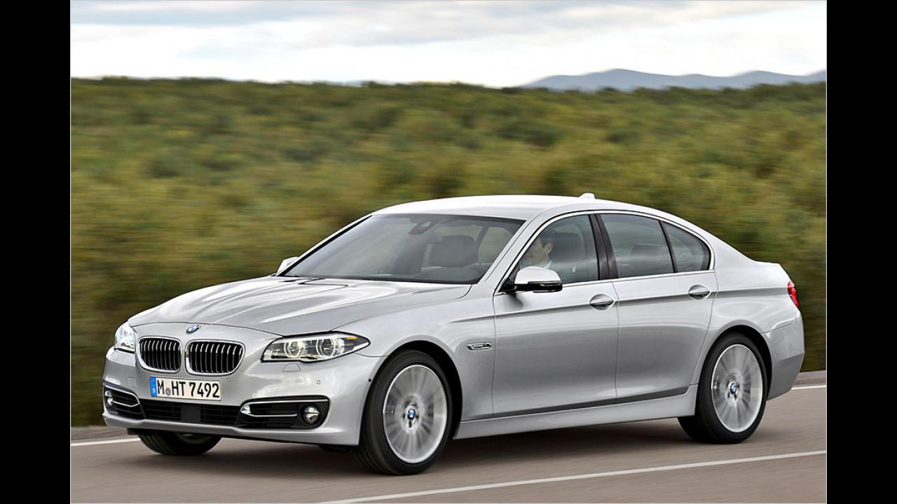 Überarbeiteter BMW 5er