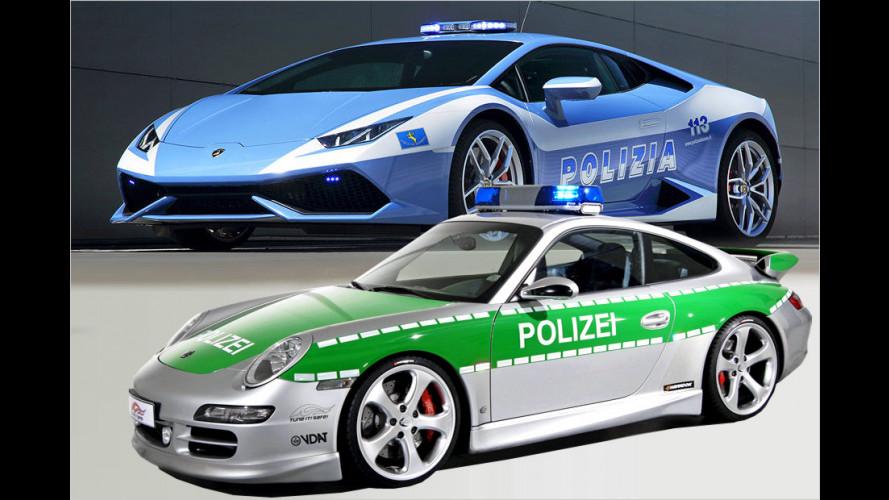 Die stärksten Polizeiautos der Welt