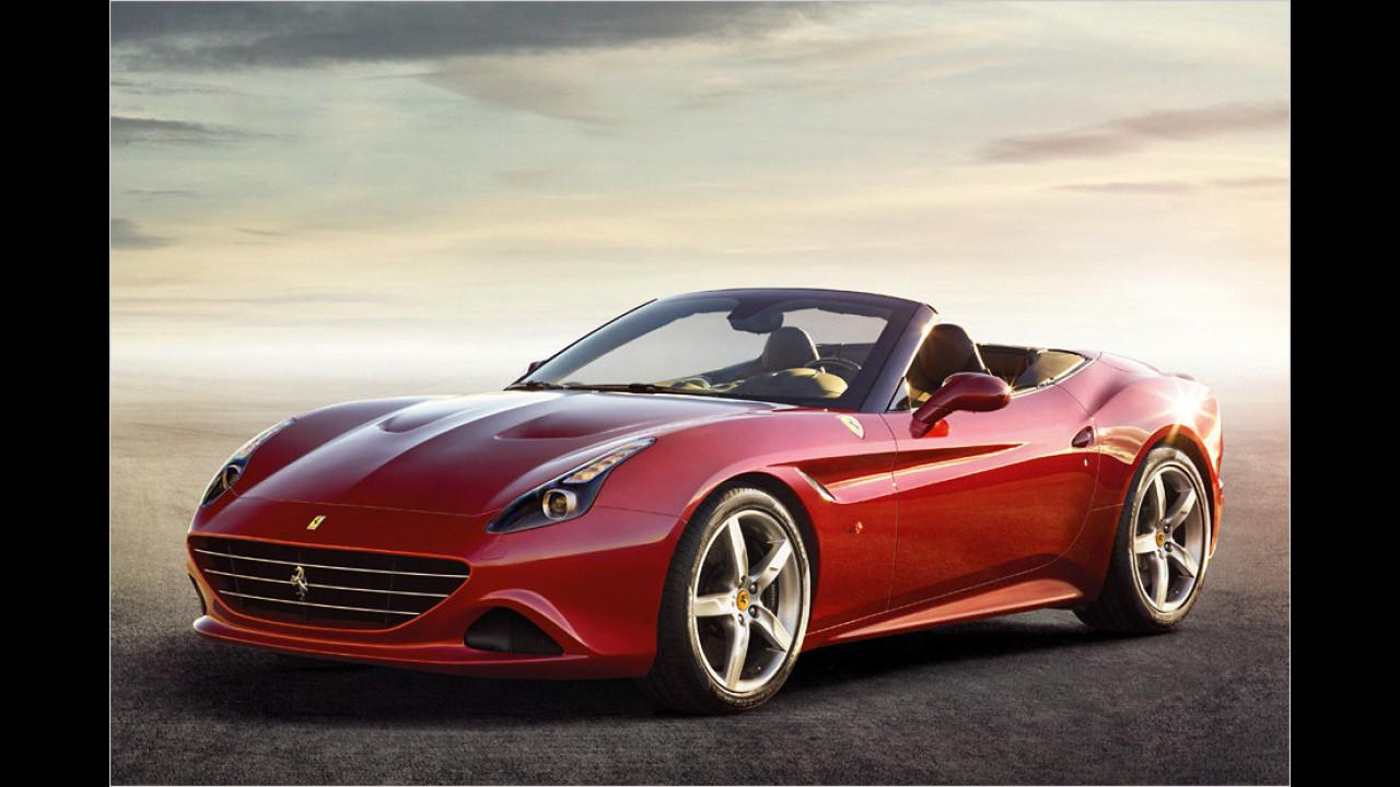 Ferrari California T (14 Sekunden, nur im Stand)