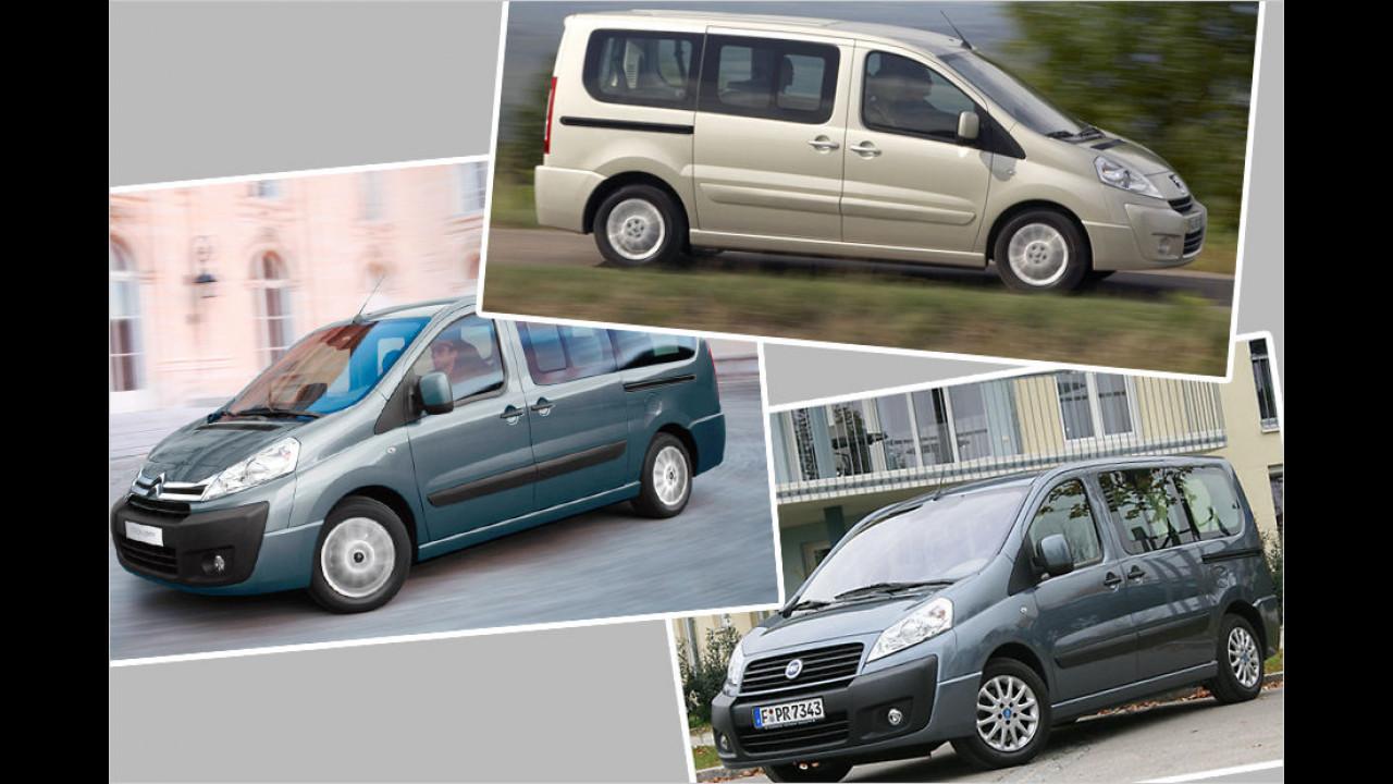 Fiat Scudo / Citroën Jumpy / Peugeot Expert