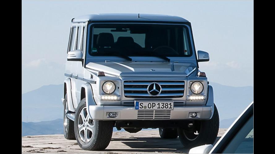 Mercedes G-Klasse: Facelift für eine Legende
