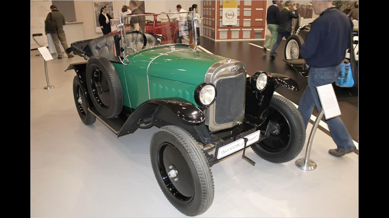 Opel 4/12 PS ,Laubfrosch