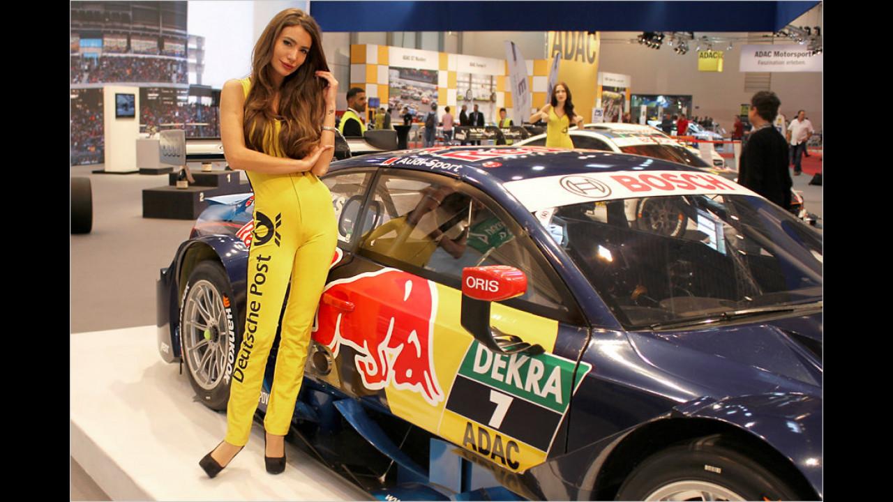 Die Christel von der Post steht auf Audi und Red Bull