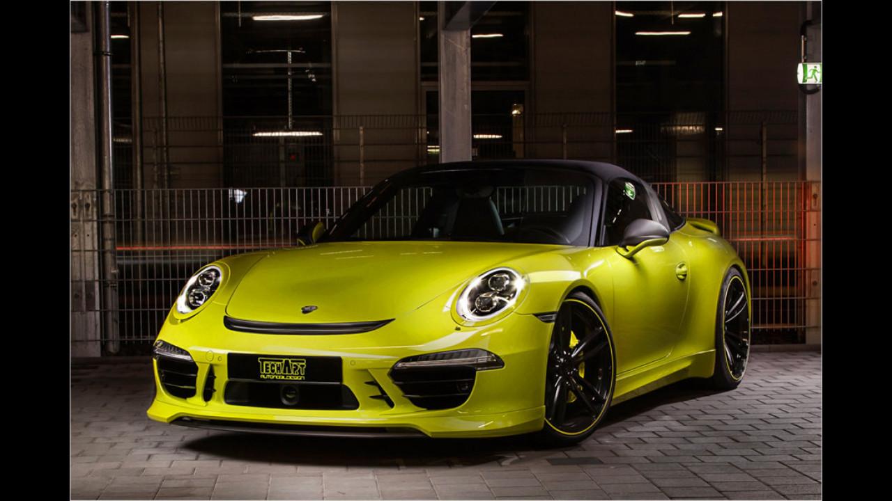 911 Targa 4 von Techart