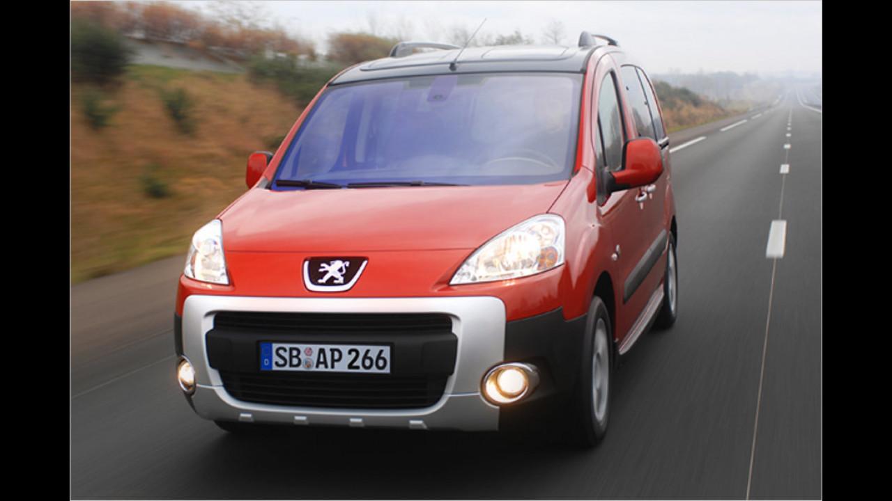Kleintransporter, 100.001 bis 150.000 Kilometer: Peugeot Partner (2008)
