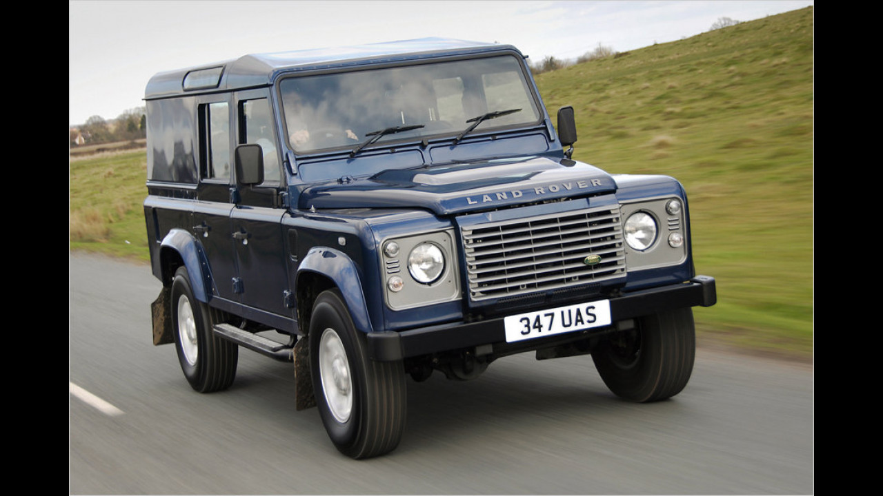 Flop: Land Rover Defender