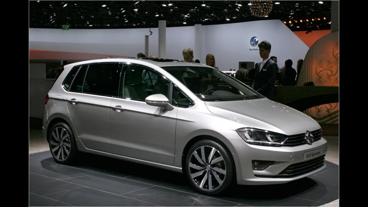 VW Golf Sportsvan Concept