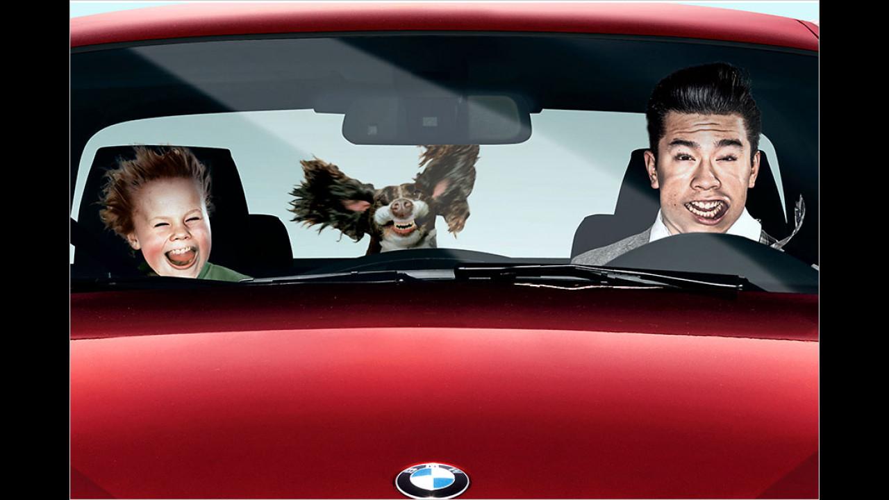 BMW England: Beschleunigungs-Simulator