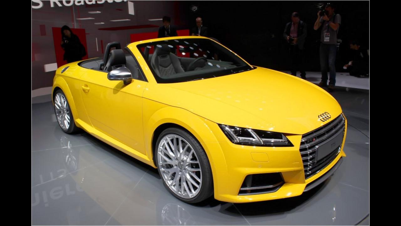 Audi TT und TTS Roadster