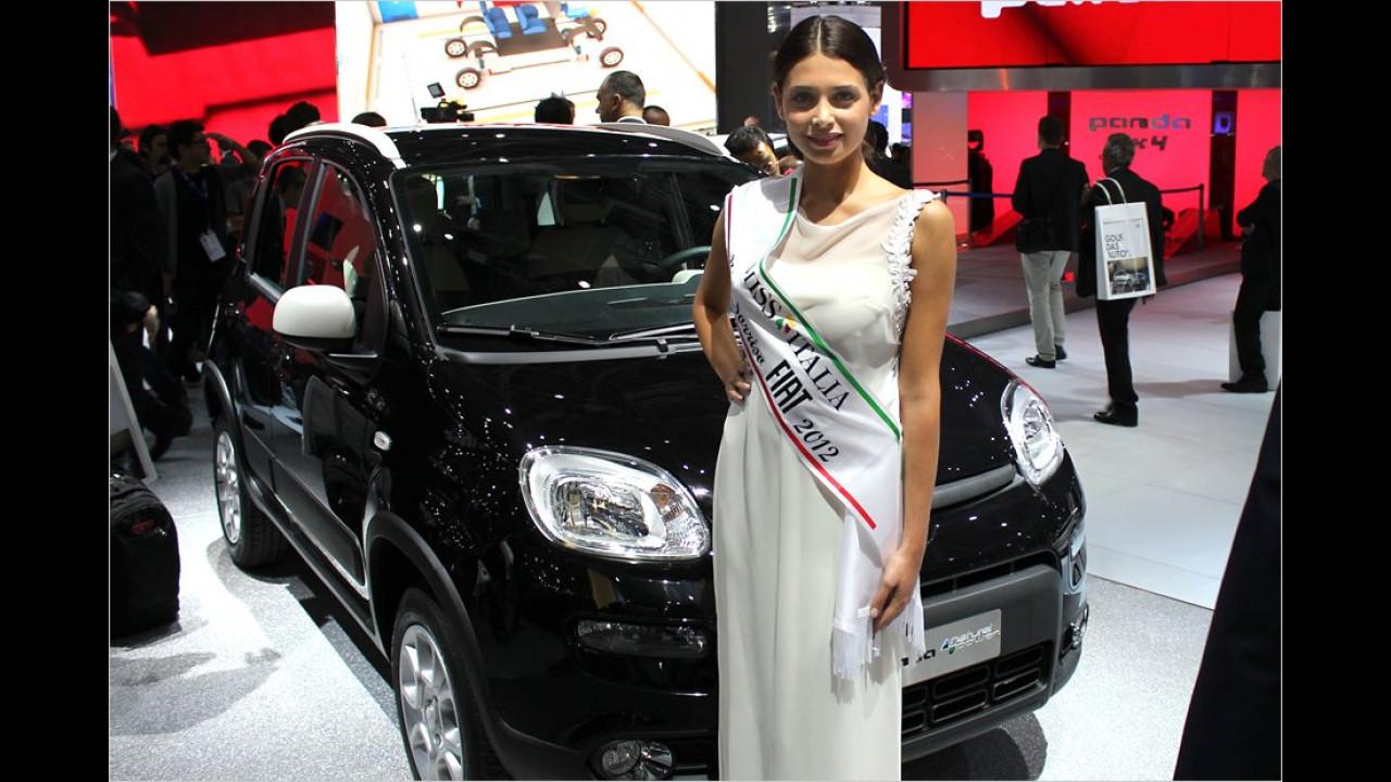 Oh, die Miss Italien! Das erinnert uns ein wenig an die frühere DDR, dort gab es eine Miss Wirtschaft. Die war aber nicht so schön