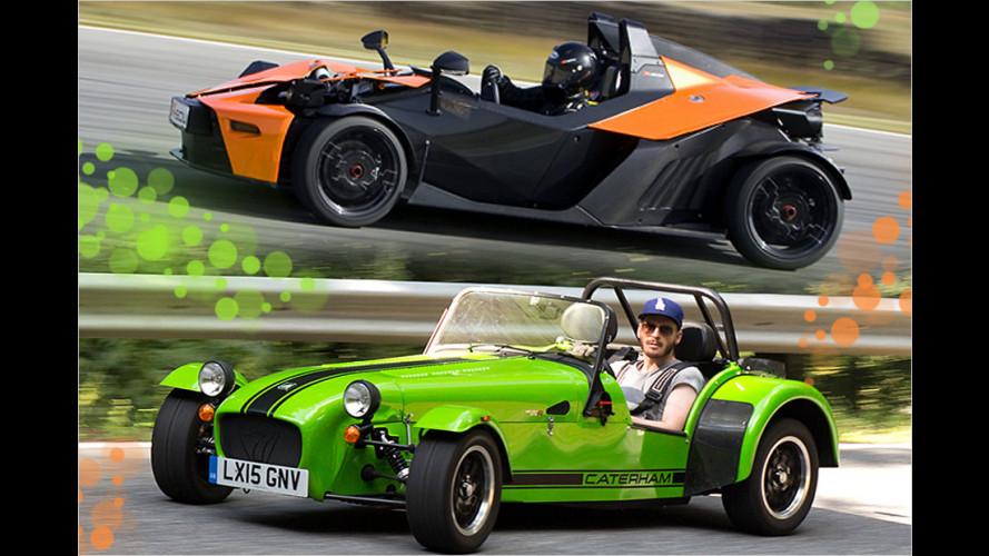Tracktools von Caterham bis McLaren