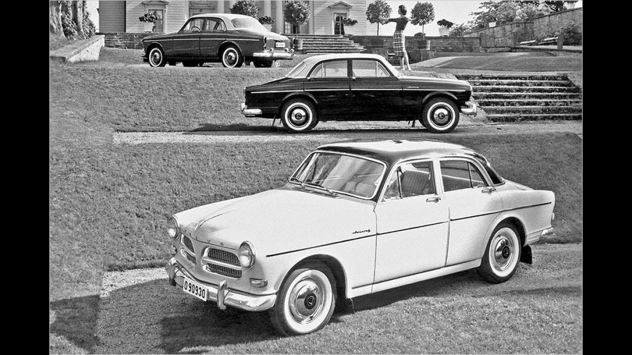 60 Jahre Volvo P120 Amazon