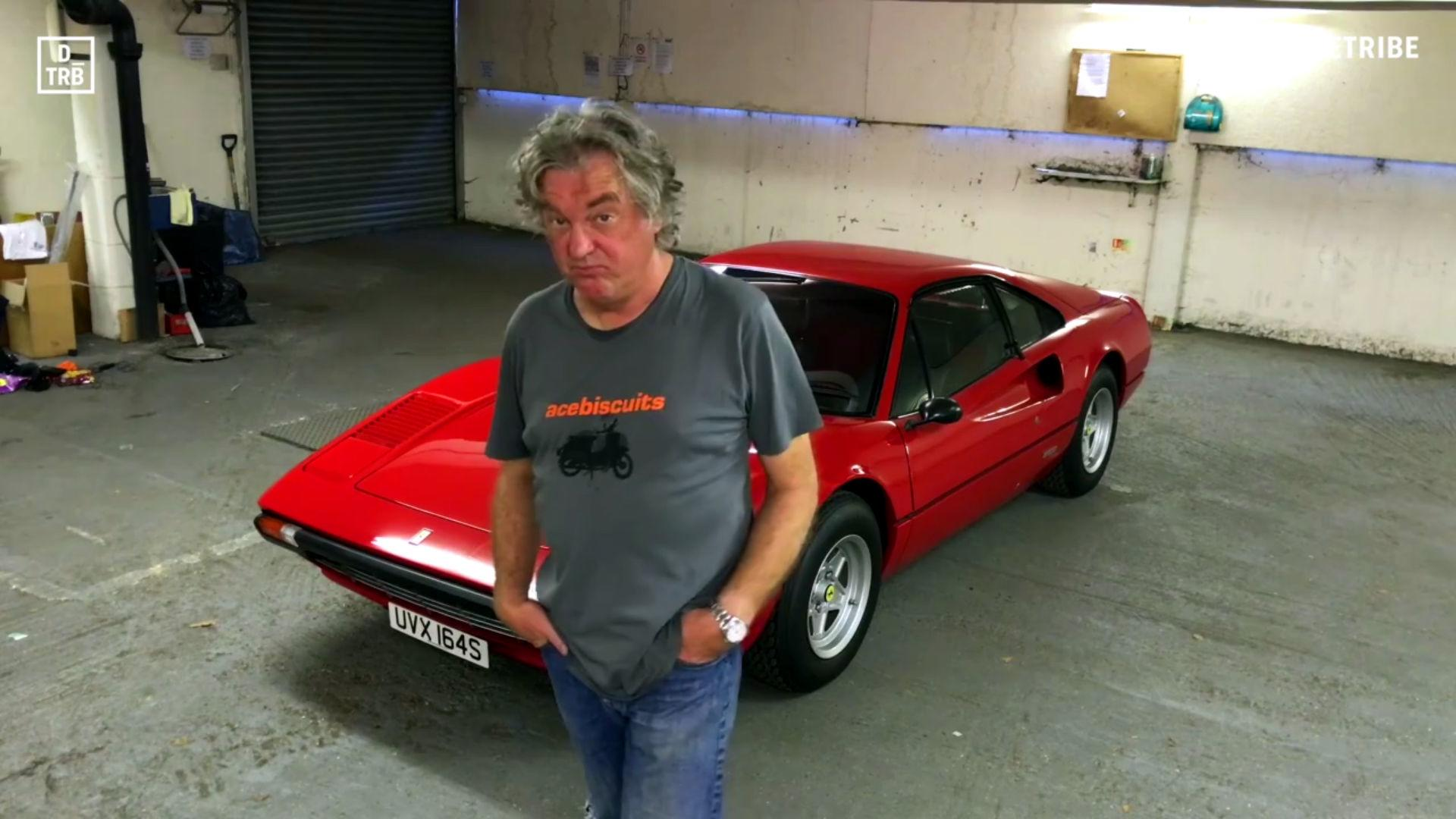 James May S Ferrari 308 Walkaround Video Is Simple And Brilliant