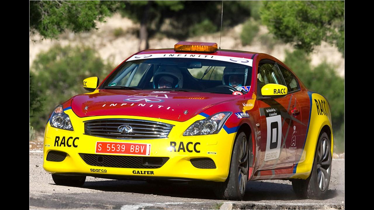 Rallye-Meisterschaft Spanien 2011: Infiniti G