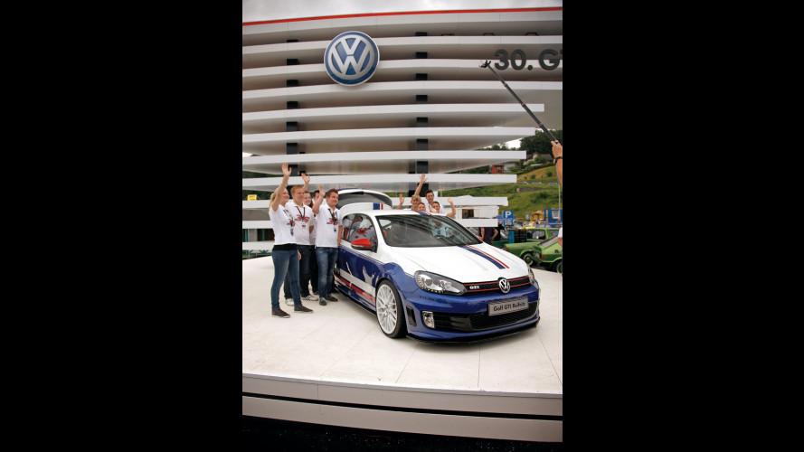 Volkswagen, 3 prototipi Golf al Worthersee