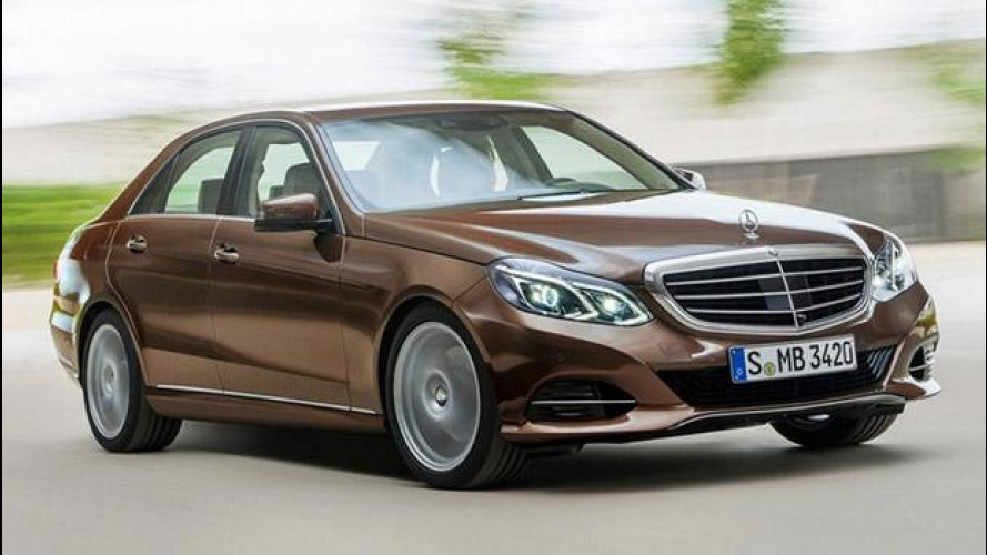 Mercedes Classe E restyling: le prime foto