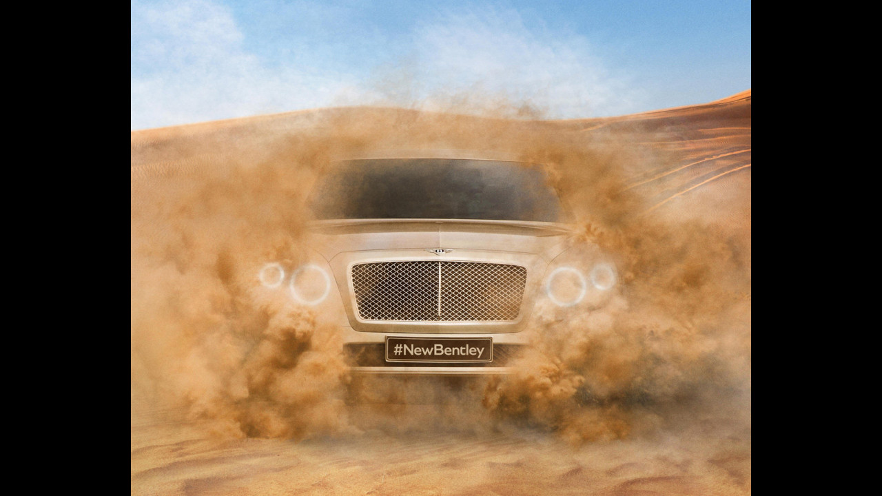 SUV Bentley, prime foto