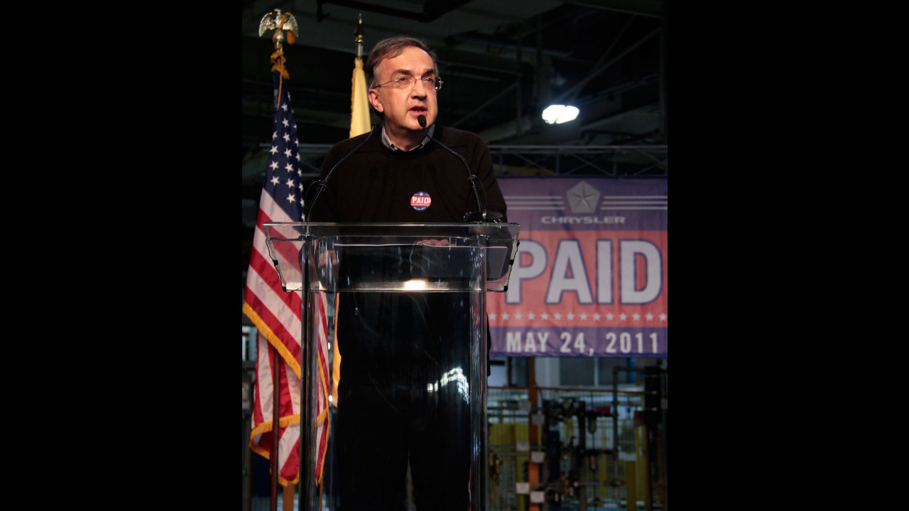Sergio Marchionne a Sterling Heights