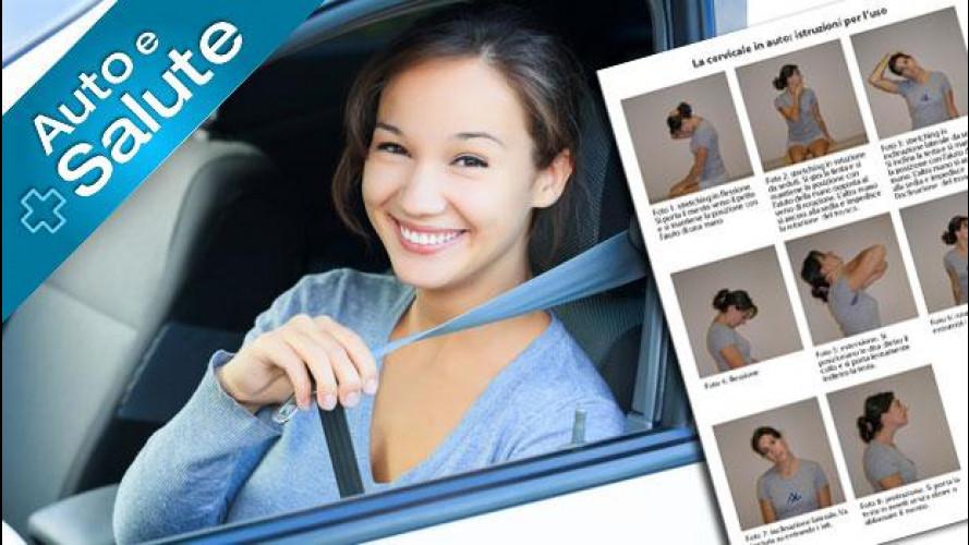 Cervicale, come si previene o si allevia quando si guida l'auto