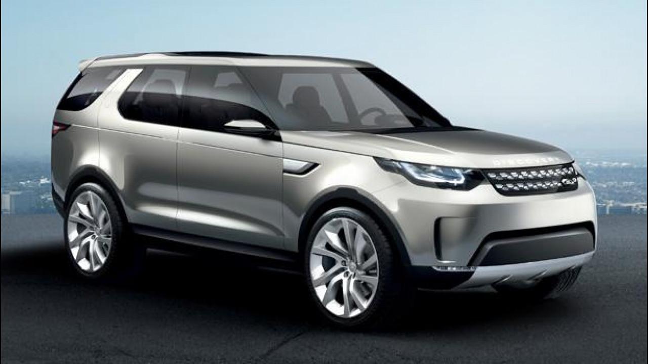 [Copertina] - Land Rover Discovery Vision Concept, il SUV del futuro