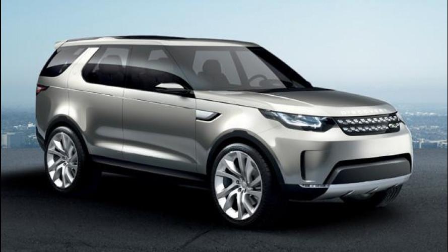 Land Rover Discovery Vision Concept, il SUV del futuro