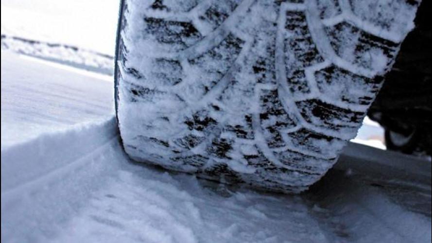 Pneumatici invernali, fine delle ordinanze 2014