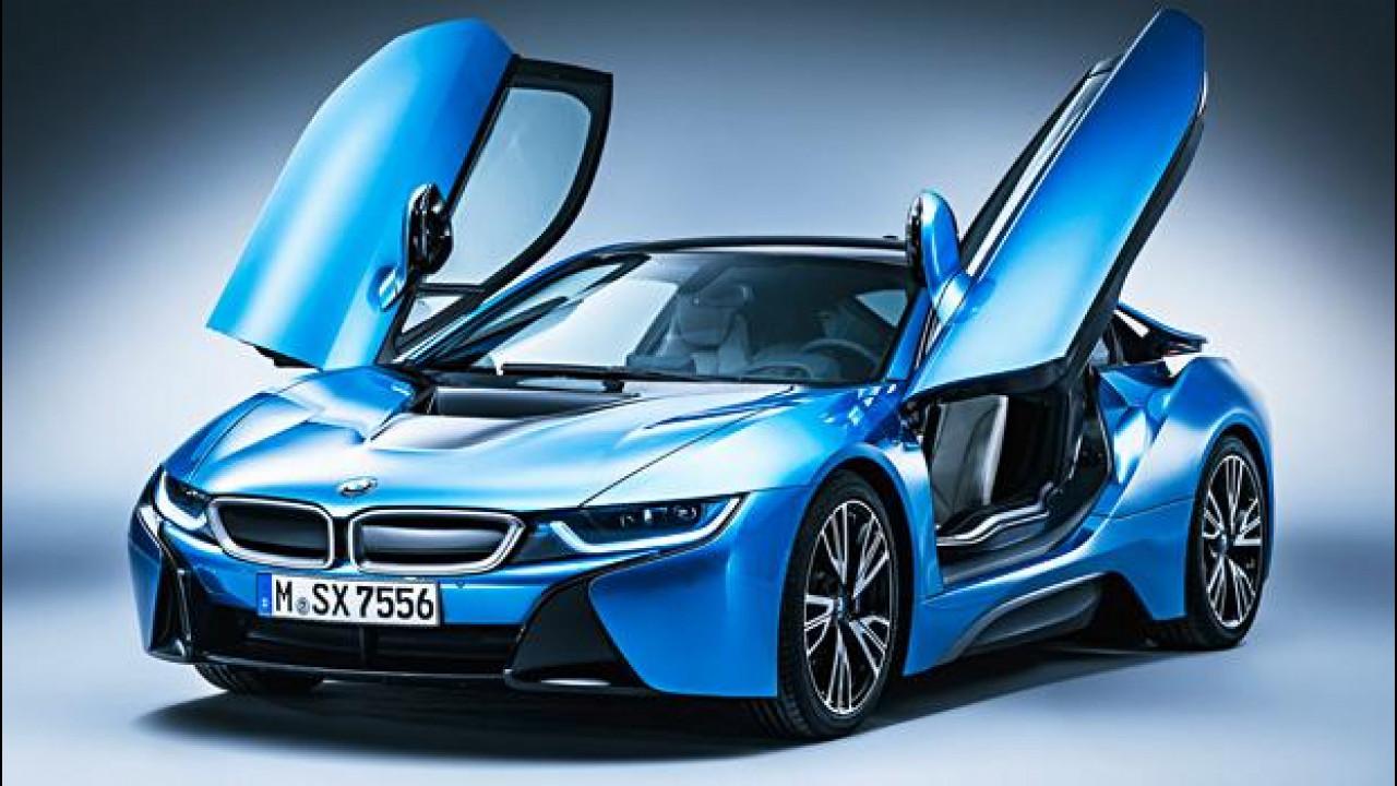 [Copertina] - BMW i8, al top con il pacchetto Pure Impulse