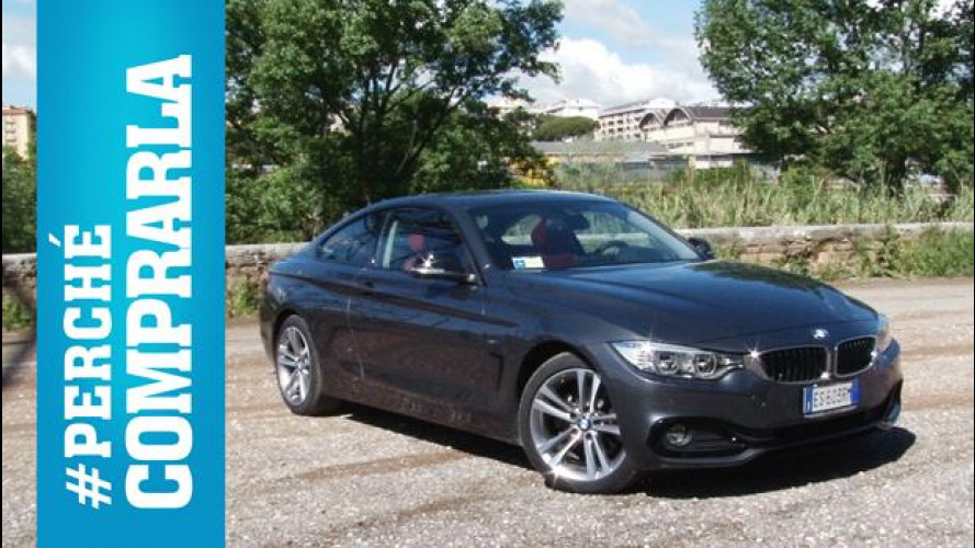 BMW Serie 4 Coupé, perché comprarla... e perché no [VIDEO]