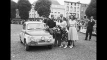 Fiat 500 alla Liege-Brescia-Liege