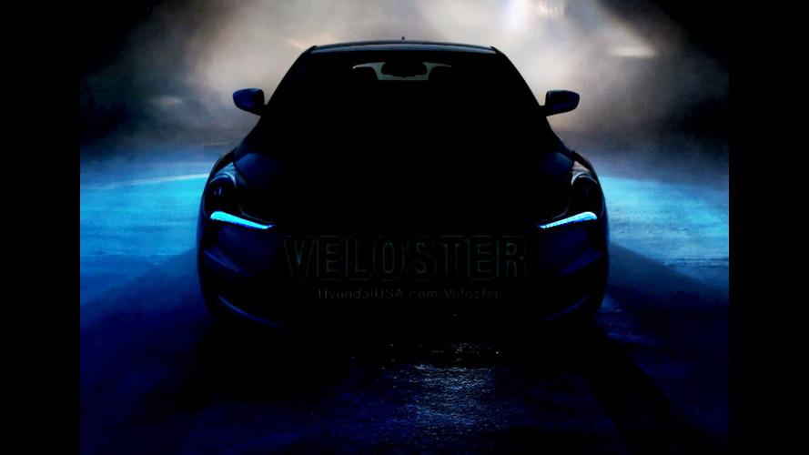 Hyundai Veloster: nuovo teaser
