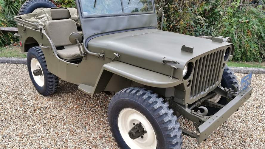 You can buy Steve McQueen's Jeep