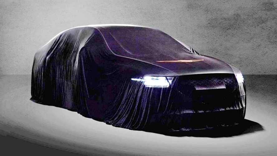 Makyajlı 2020 Genesis G90 teaser