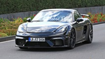 2019 Porsche 718 Cayman GT4 spy photo
