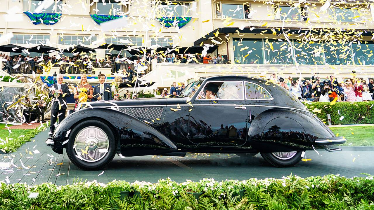 """Alfa Romeo 8C 2900B Touring, """"Best of Show"""" at 2018 Pebble Beach Concours d'Elegance"""