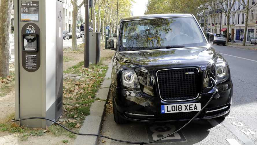 Government invests £6m in charging points for electric taxis
