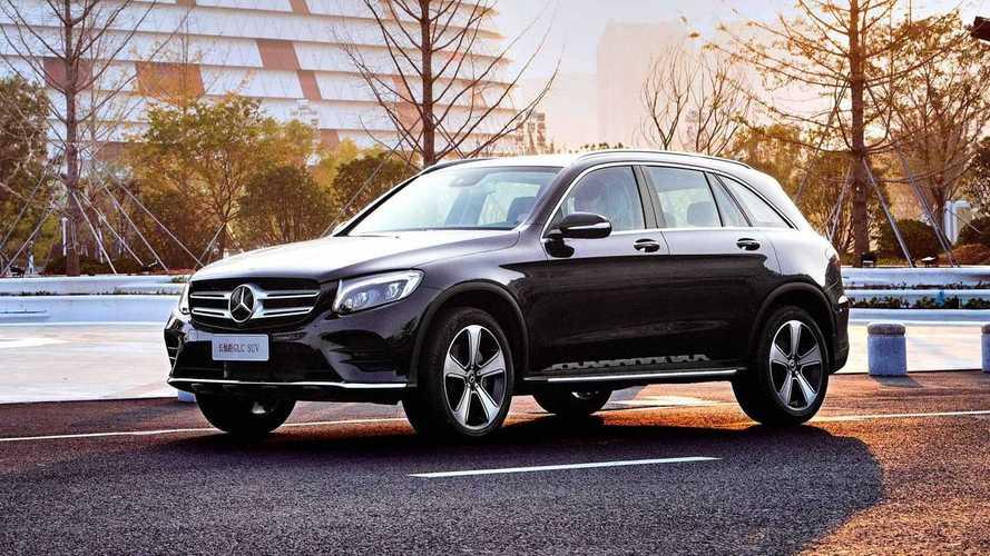 Mercedes GLC L 2019, versión de batalla extendida para China