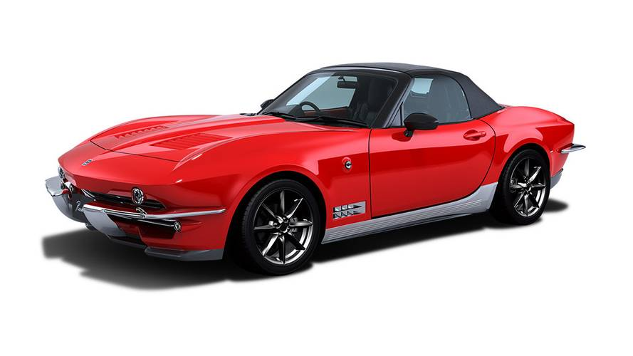 Mitsuoka Rock Star Is A Miata Turned Into A Chevy Corvette C2